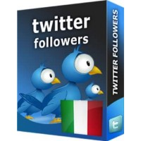 TWITTER FOLLOWERS ITALIANI